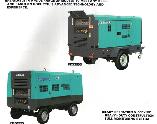 Máy nén khí di động Airman ( PDSF 530S - PDSF920S/G850S )